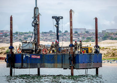 Luanda Fish Port: Geotech Site Investigation